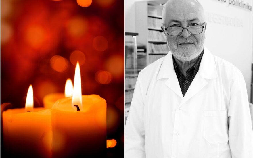 Mirė gydytojas Romaldas Mackevičius