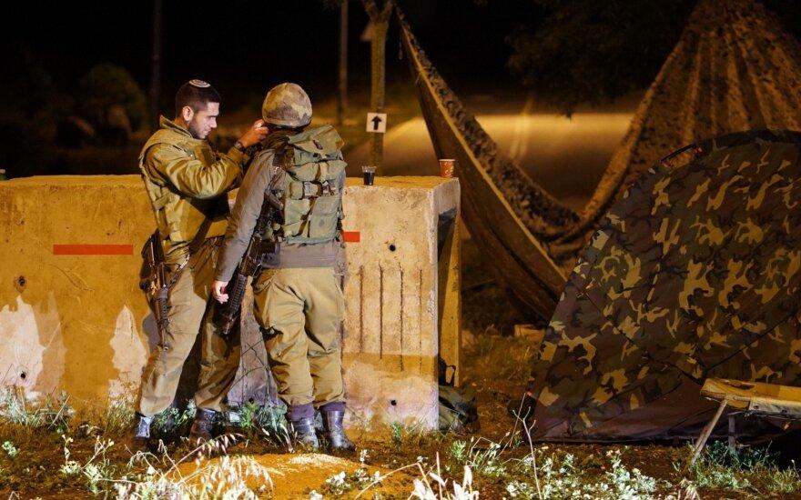 Izraelis po sprogimų pasienyje smogė taikiniams Gazos Ruože