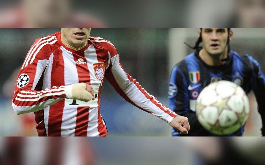 """Arjenas Robbenas (""""Bayern"""")"""