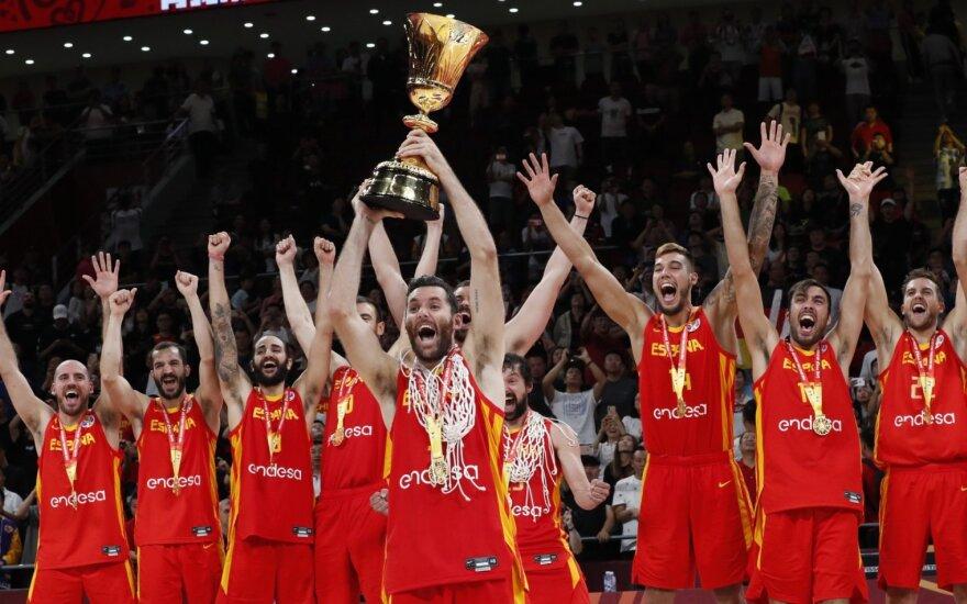 Ispanijos rinktinės triumfas