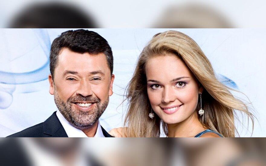 Vytautas Šapranauskas ir Jurgita Jurkutė