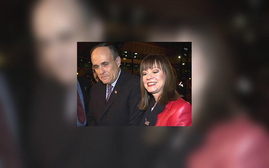 Rudolphas Giuliani ir Judith Nathan