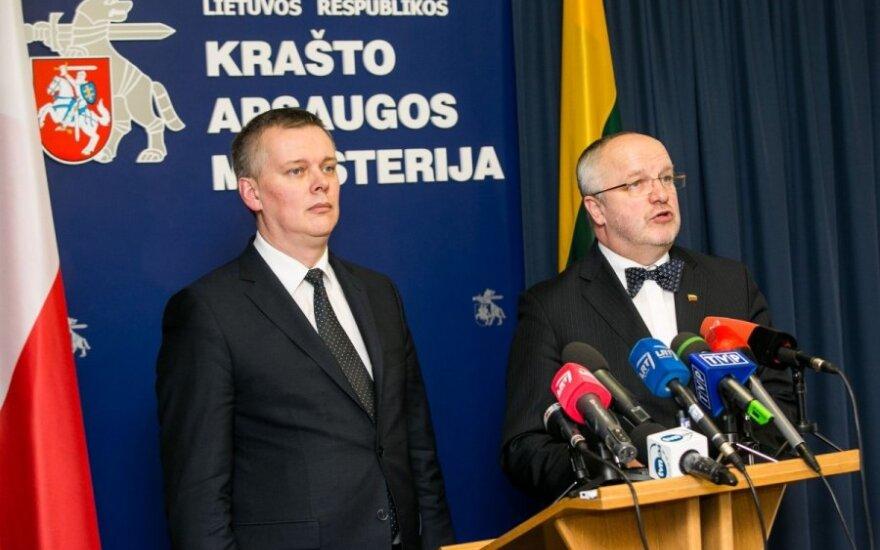 Tomasz Siemoniak and Juozas Olekas
