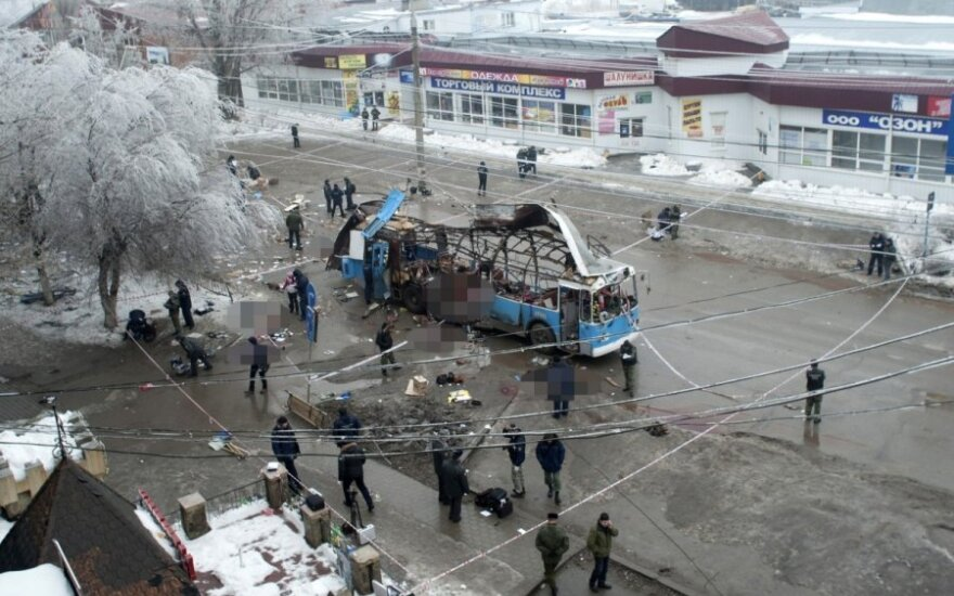 Rusijoje sulaikyti prie Volgogrado atakų prisidėję asmenys
