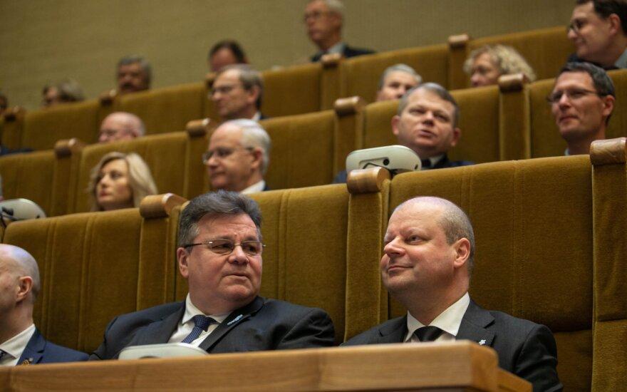 Linas Antanas Linkevičius, Saulius Skvernelis