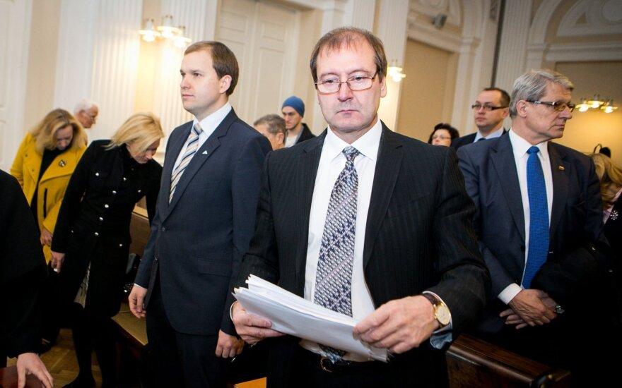 Nuosprendis Darbo partijos byloje: V. Uspaskichas į kalėjimą nesės