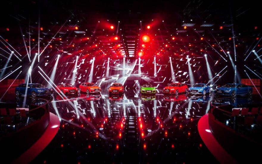 """Ateities mobilumo technologijų konferencija """"Audi Summit"""""""