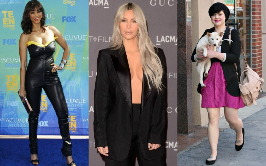 Tyra Banks, Kim Kardashian, Kelly Osbourne