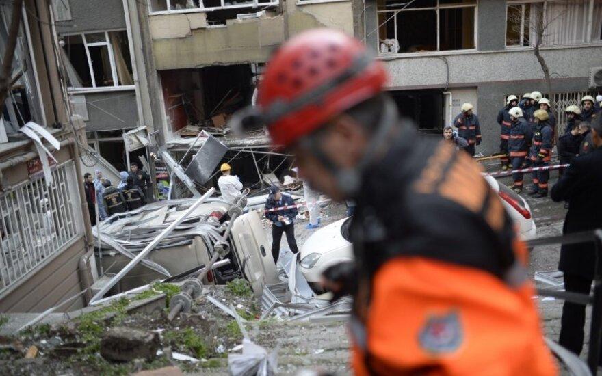 Stambulo centre nugriaudėjo sprogimas