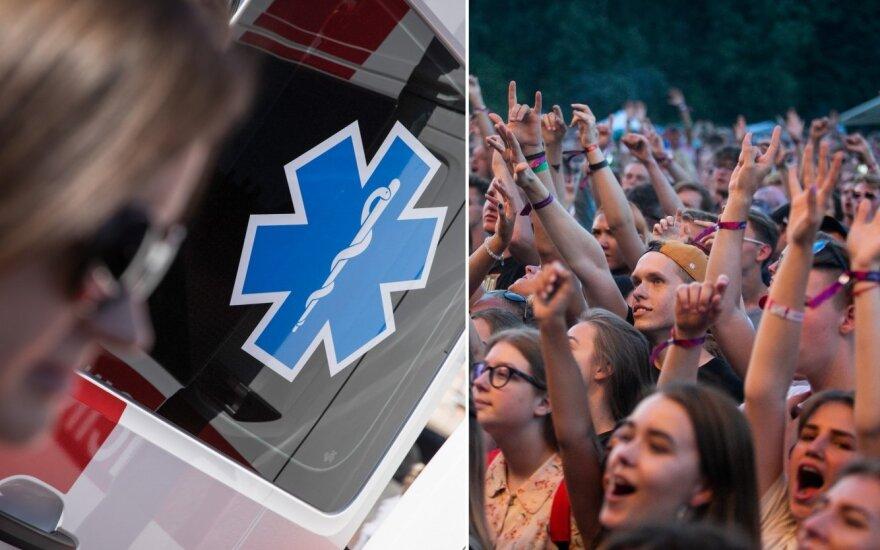 """Medikė patikino, kad """"Granatos Live"""" festivalyje kiekvieno dalyvio sveikata buvo svarbiausia"""
