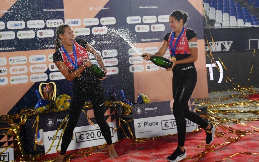 Tina Graudina ir Anastasija Kravčenoka