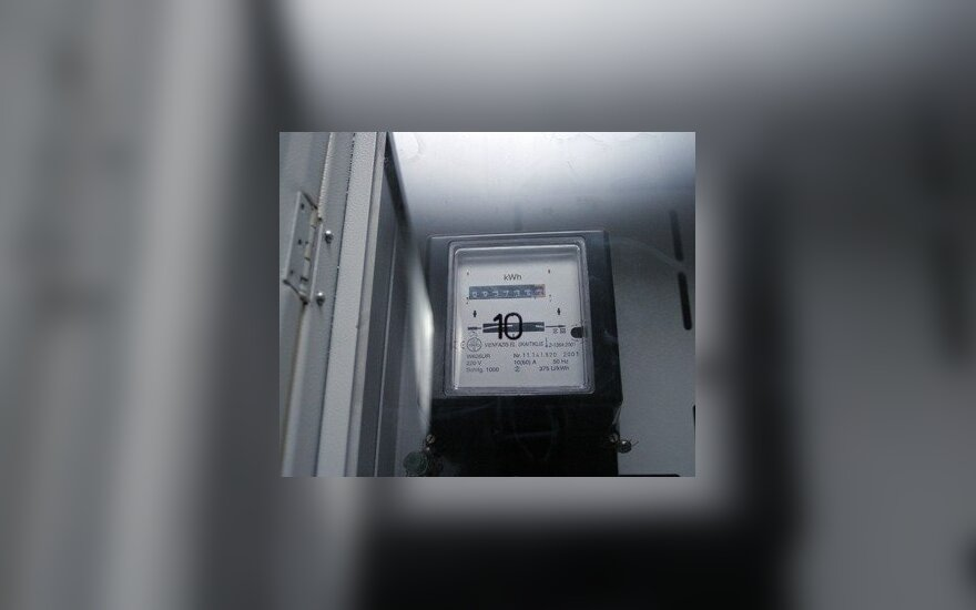 Už elektrą bandė mokėti naujoviškai – liko skolinga 700 Lt
