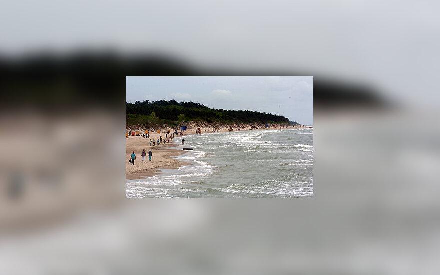 Jūra, pajūris, paplūdimys