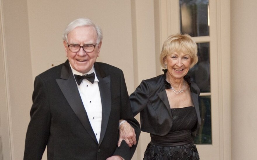 Warrenas Buffettas ir Astrid Menks