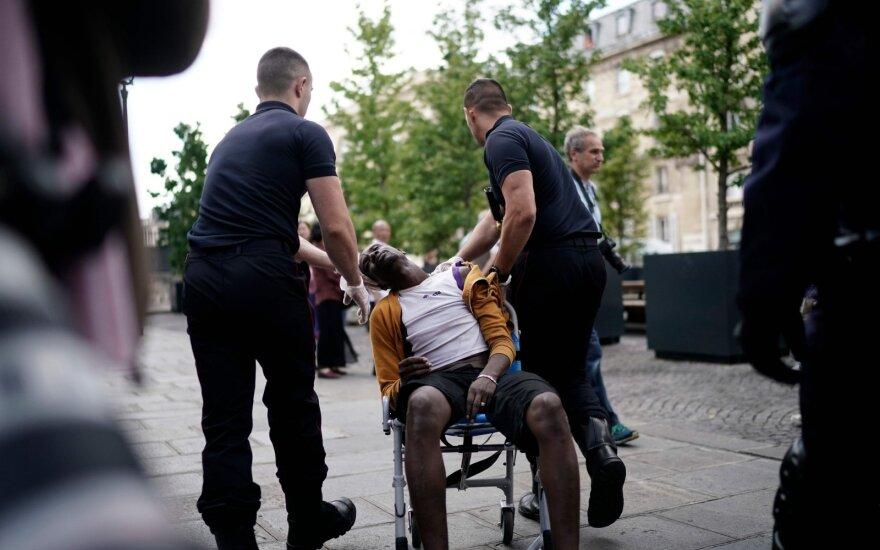 Migrantai okupavo Paryžiaus Panteoną
