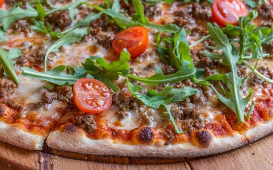 Gardi naminė pica