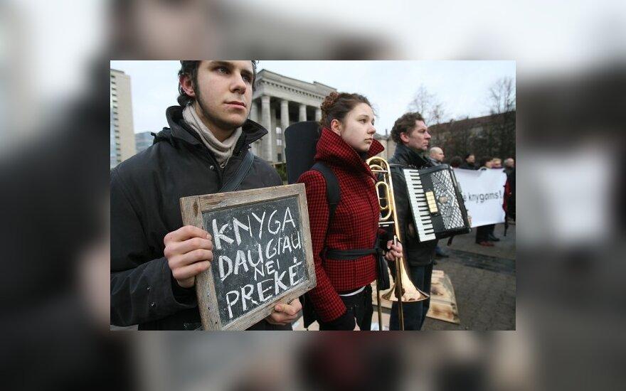 Protesto akciją nori rengti ir menininkai
