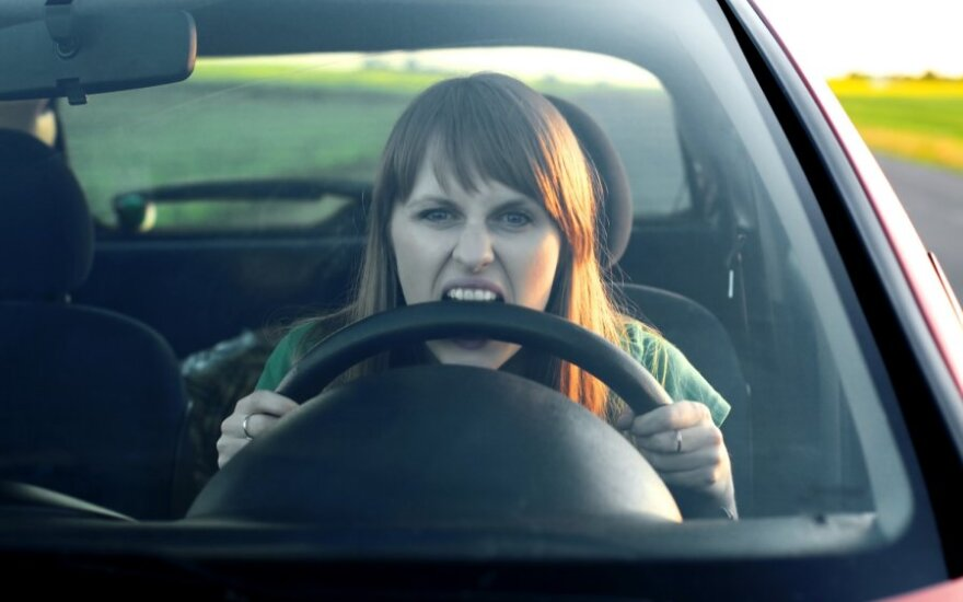 Stresas vairuojant