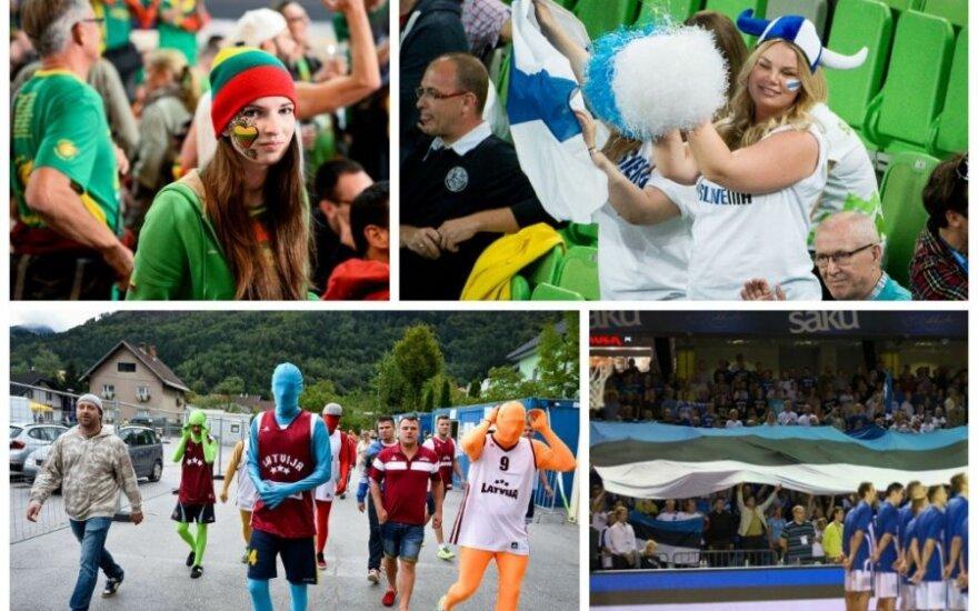 Lietuva, Suomija, Latvija ir Estija kartu nori organizuoti 2017 metų Europos čempionatą (DELFI nuotr.)