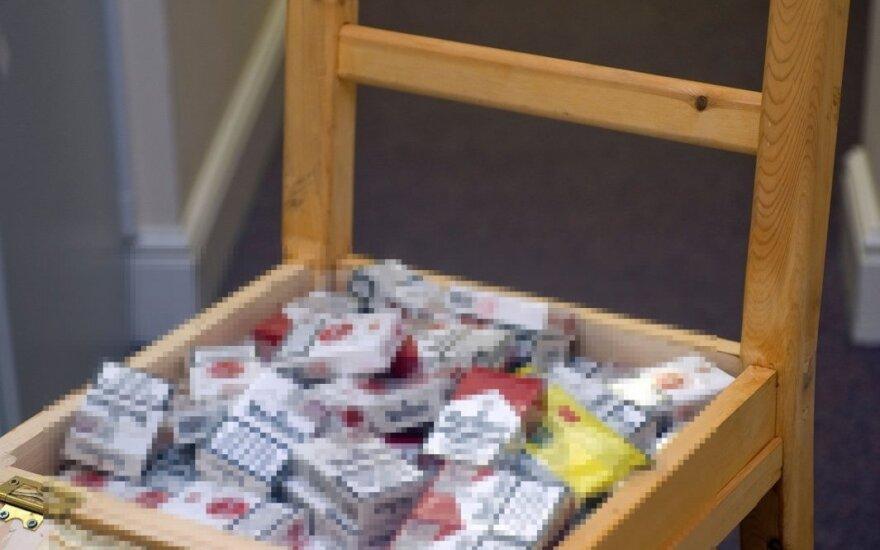 Cigarečių kontrabandos slėtuvės