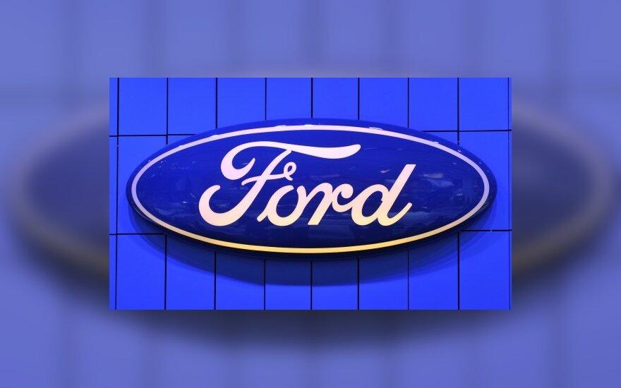 """""""Ford"""" pardavimai Europoje sumažėjo 22 proc."""