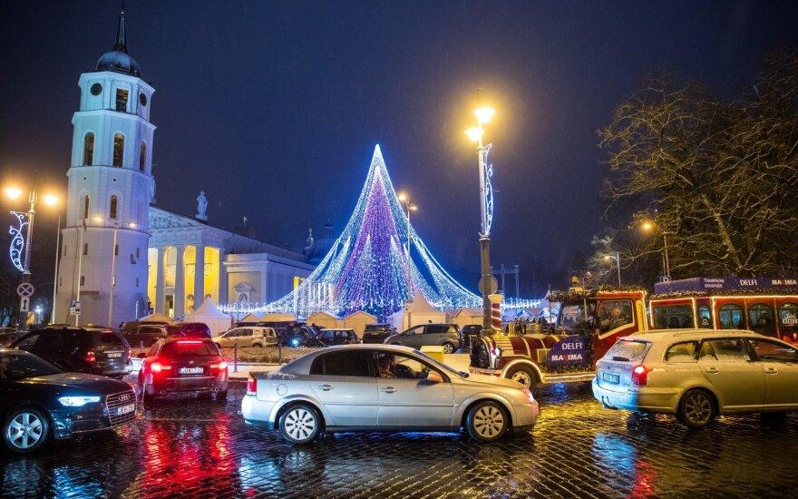 Naujųjų naktį Vilniuje – laikini eismo apribojimai