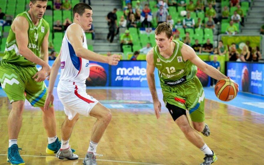 Slovėnijos rinktinei nepavyko laimėti turnyro Kinijoje