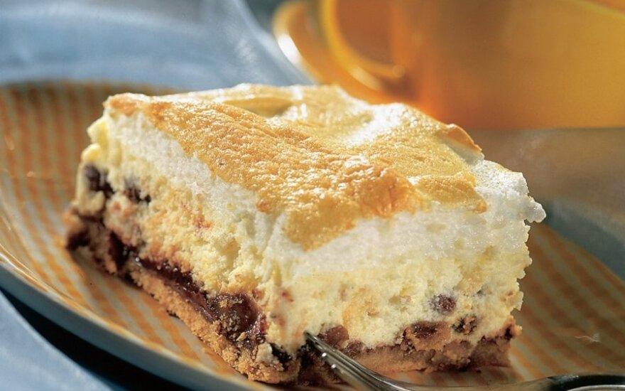 Lenkiškas varškės pyragas