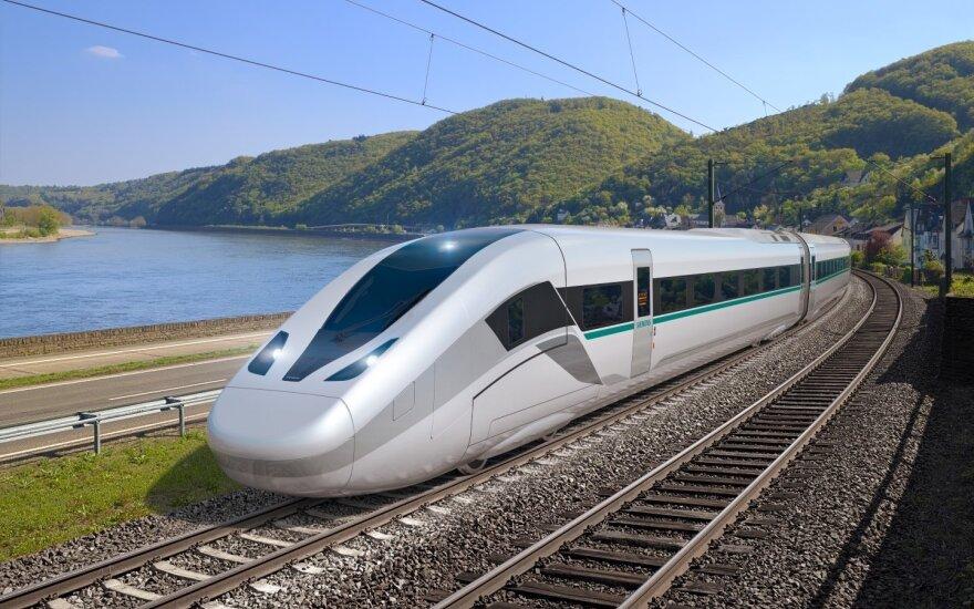 """""""Siemens"""" pristatė naujos kartos traukinius """"Velaro Novo"""""""