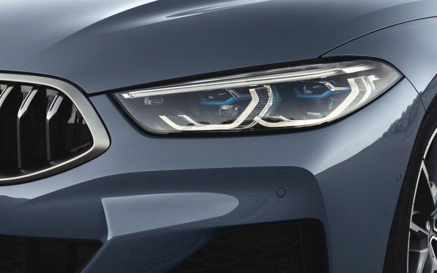 BMW pristatė naują 8 serijos kupė