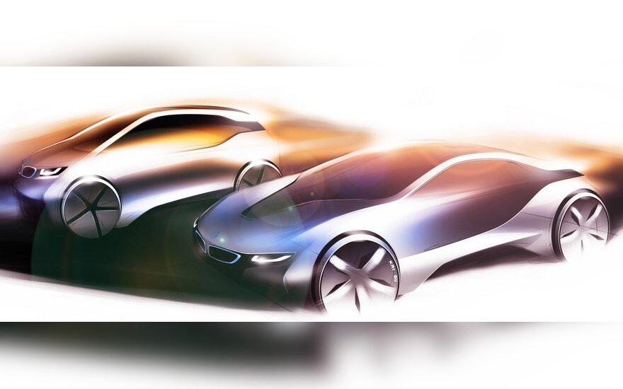 "BMW elektromobiliai bus žymimi ""i"" prekės ženklu"