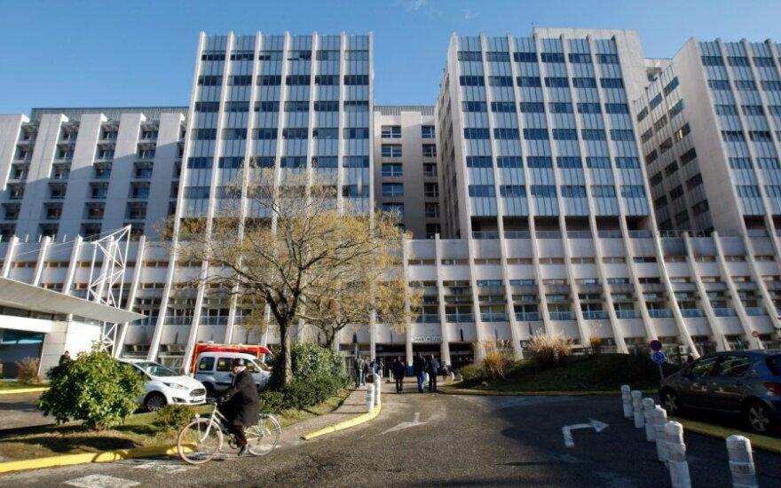 Grenoblio ligoninė, kurioje gydomas Michaelis Schumacheris