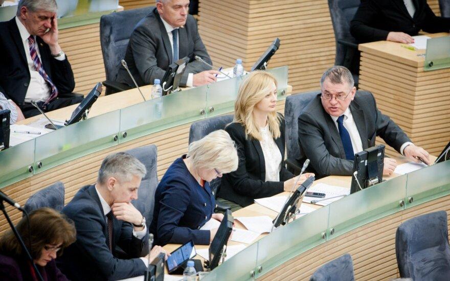 Į Seimo darbotvarkę grįžta projektas dėl abortų draudimo