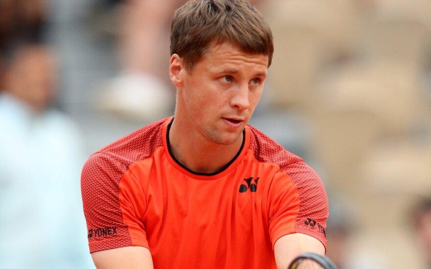 Seniai regėtos aukštumos: Berankis ATP reitinge artėja prie pasaulio teniso elito