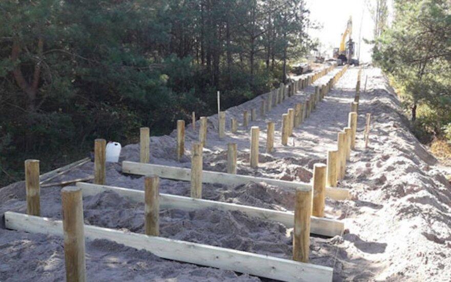 Melnragės parko atsinaujinimas gali užtrukti