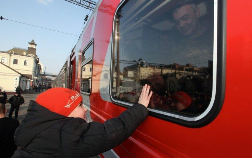 Atvykėliai iš Šiaurės Kaukazo ES šturmuoja traukiniais