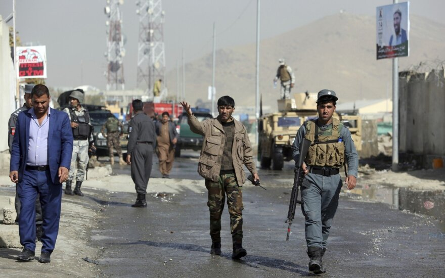 Kabule degalinės gaisrui išplitus į daugiabutį žuvo 3 žmonės