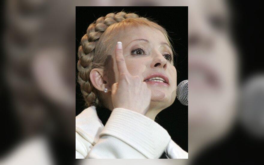 J.Tymošenko dėl skolų už algas pagrasino nacionalizacija