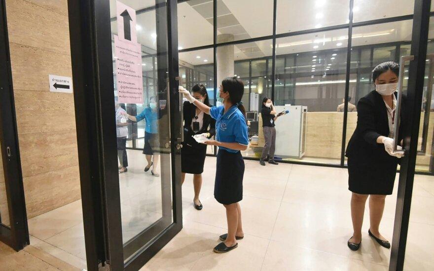 Japonijos valdžia ragina piliečius nesudaryti tualetinio popieriaus deficito