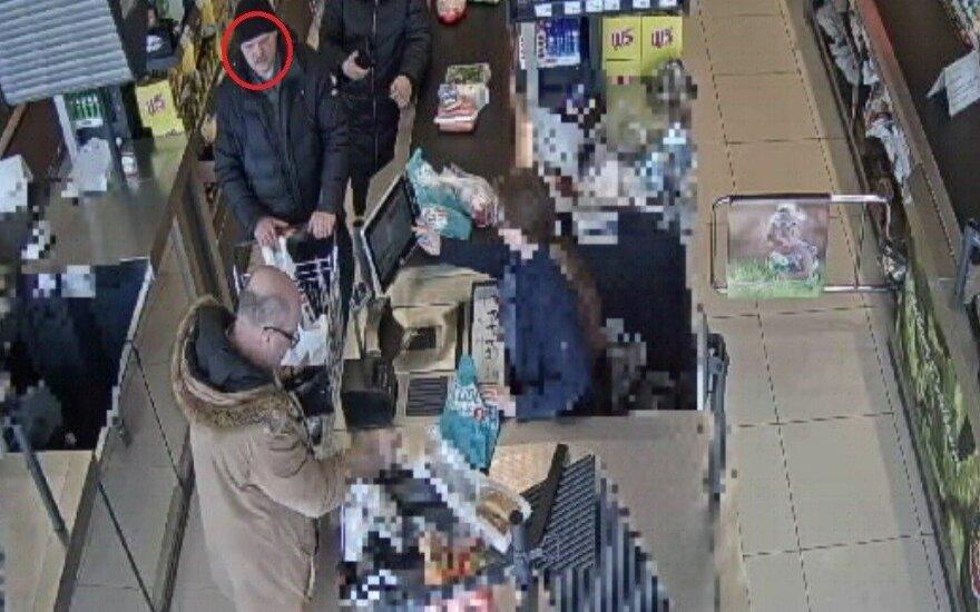 """Ieškomas vyras, pranešęs apie sprogmenį parduotuvėje """"Lidl"""""""