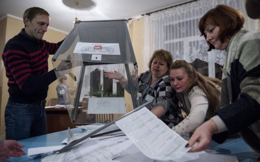Rinkimai Donbase