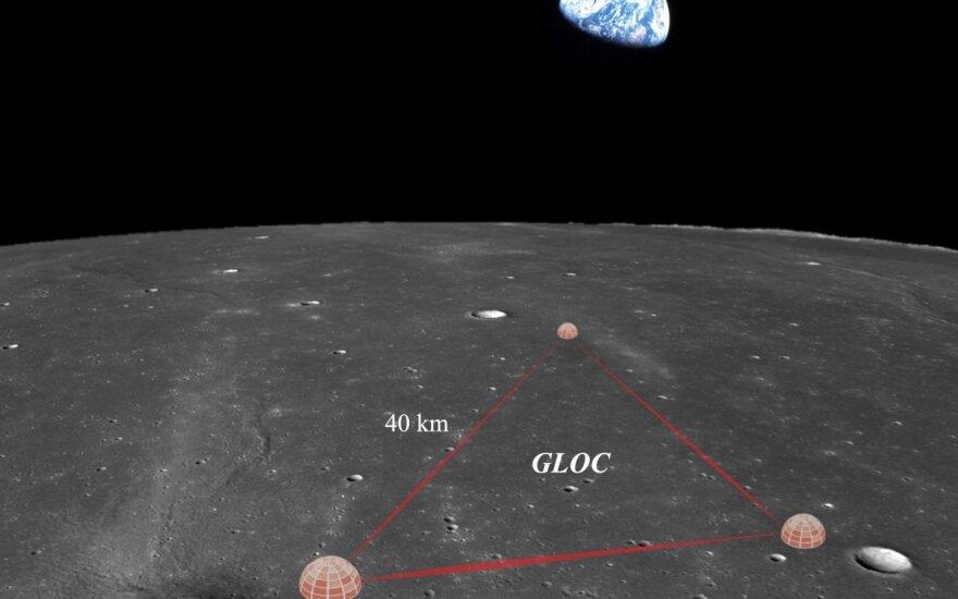 Observatorija Mėnulyje. Karan Jani pav.