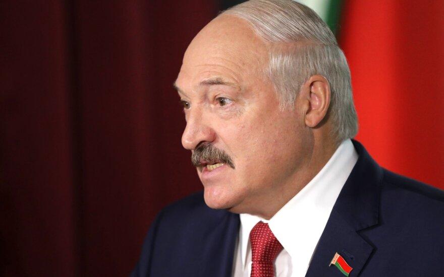 Lukašenka dalyvavo Parlamento rinkimuose