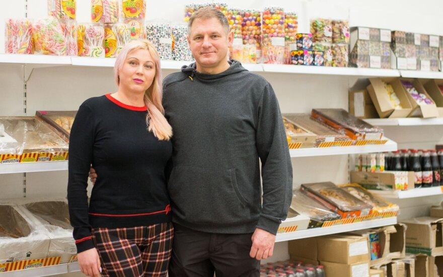 Ukrainietės sėkmė Lietuvoje: perkėlus saldumynų verslą, atidarė savo parduotuvę