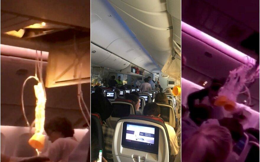 Košmaras danguje: lėktuvas nugrimzdo, o paskui šovė į viršų