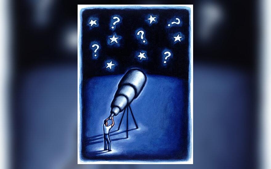 mokslas, teleskopas, astronomija, žvaigždės