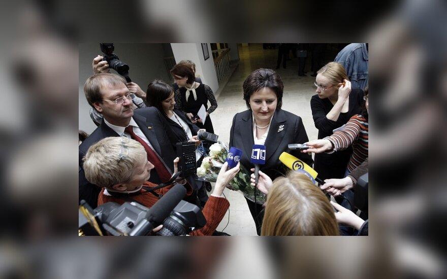 L.Graužinienės susitikime su pramonininkais - V.Uspaskicho patarimai