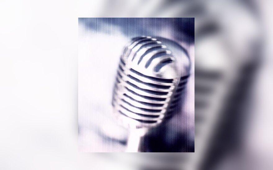 Muzika, mikrofonas, scena