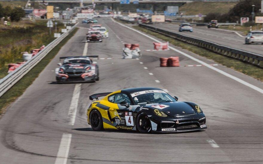 """""""Porsche Baltic"""" komanda vėl stos prie 1006 kilometrų lenktynių starto linijos"""