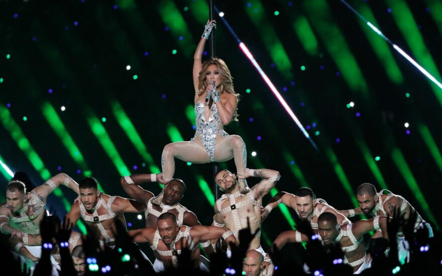 Super Bowl 2020: Jennifer Lopez ir Shakira pasirodymas